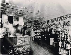 Cornwall Store interior